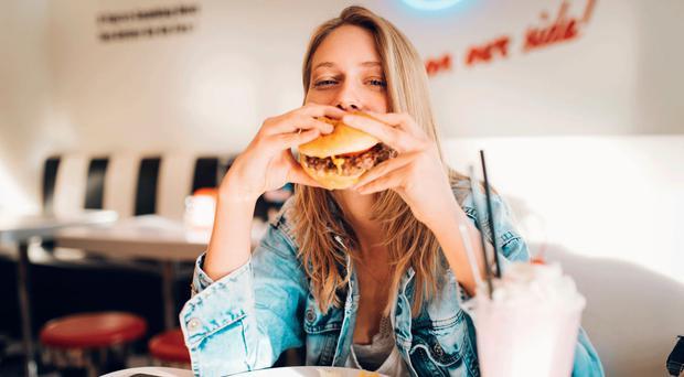 Tuck in: enjoy a burger and don't feel guilty just like Eve Simmons and Laura Dennison