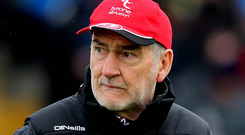 Fresh talent: Mickey Harte has high hopes for his young guns