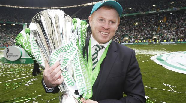 Neil Lennon won three league titles in his first spell in charge of Celtic.