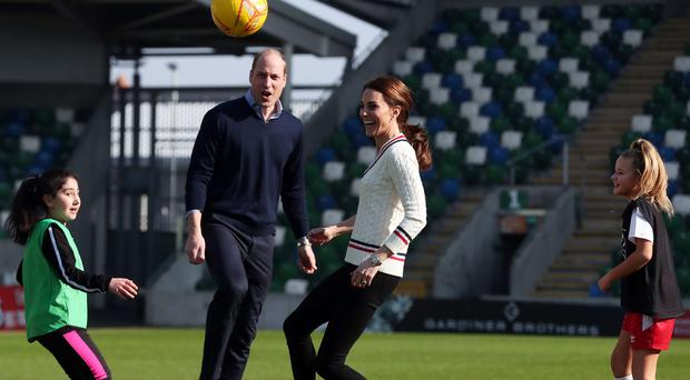 Prince William and Kate on royal visit to Northern Ireland