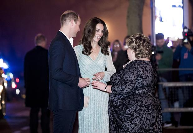 The Duke and Duchess of Cambridge visit the Empire Music Hall on February 25th 2019 (Photo by Kevin Scott for Belfast Telegraph)