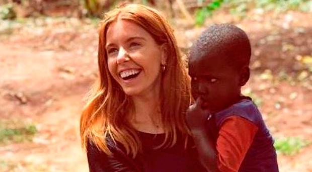 Stacey Dooley on a Comic Relief trip to Africa