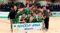 Champions: St Malachy's celebrate All Ireland success as CJ Fulton's performance earned him MVP
