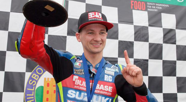 First time: Richard Cooper will race at the NW200 in May