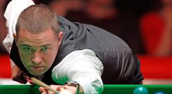 In line: Stephen Hendry before retiring from the main tour