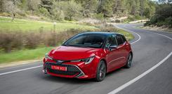 Undated Handout Photo of the new 2019 Toyota Corolla