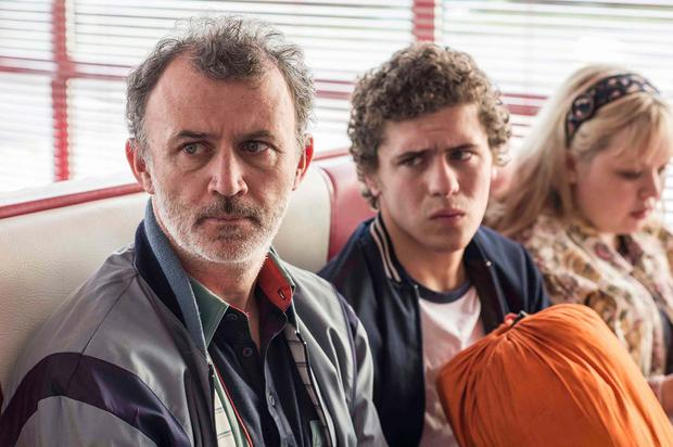 Gerry Quin (Tommy Tiernan), James Maguire (Dylan Llewellyn) Clare Devlin (Nicola Coughlan)