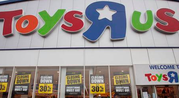 Toys 'R' Us was one of many retailers forced to close all of its stores