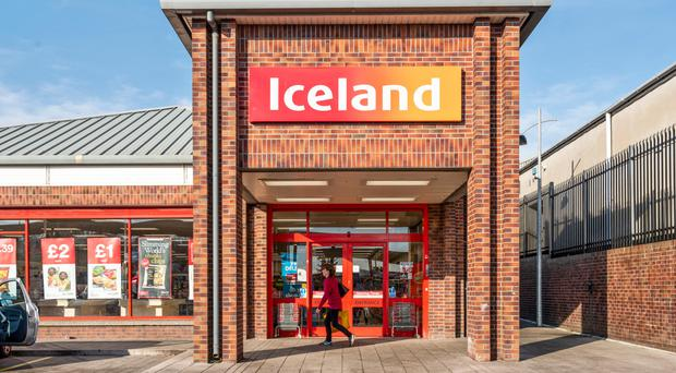 An Iceland supermarket is on the market