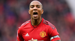Real belief: Ashley Young isn't writing off United's hopes. Photo: Getty Images