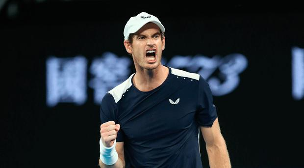 Holding hope: Andy Murray underwent hip surfacing surgery in January