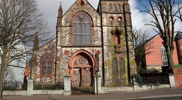 The former Holy Rosary Church on Belfast's Ormeau Road