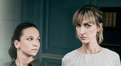 Katherine Kelly (right) and Molly Windsor star in a new TV drama Cheat