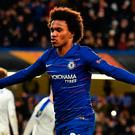 Looking ahead: Chelsea's Willian wants Champions League return