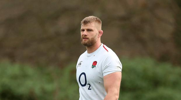 Impressed: England's George Kruis has a lot of respect for Italy