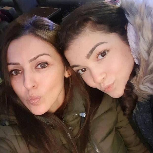Giselle Marimon-Herrera, 37, and her 15-year-old daughter Allison were found dead with a man at a flat in Newry, Co Down (PSNI/PA)