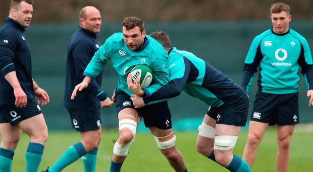 Big chance: Tadhg Beirne is in the frame for Saturday