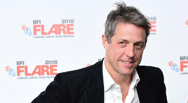 Hugh Grant is among those nominated at the BPG Awards (Ian West/PA)
