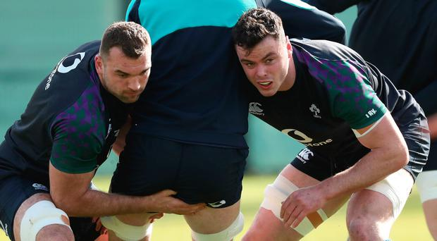 Big chance: Tadhg Beirne and James Ryan can impress Joe Schmidt in Wales