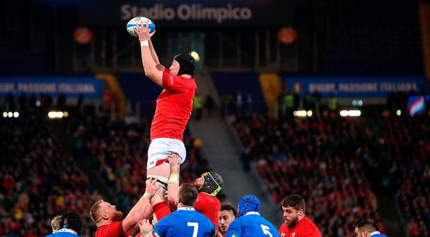 Tall order: Adam Beard has a superb record with Wales