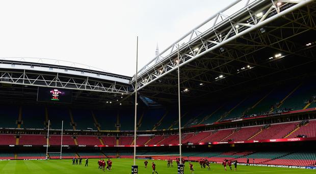 The roof will stay open for tomorrow's Six Nations clash.