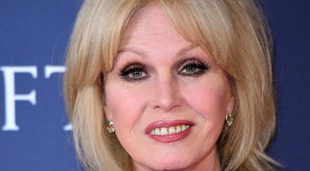 Joanna Lumley received the honour from the University of Chester (Ian West/PA)