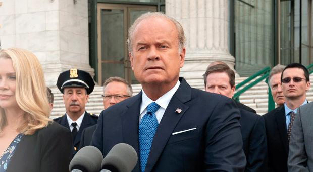 Kelsey Grammer is back on our screens as a tough lawyer in Proven Innocent