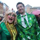 Press Eye - St Patricks Day Parade - Belfast City Centre - 17th March 3019 Photograph by Declan Roughan