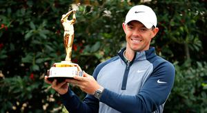 Rory McIlroy has been crowned 'The Players Champion' for the first time.