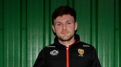 On target: Donal O'Hare did the trick for Down yet again