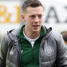Been there: Callum McGregor has played in the Astana Arena