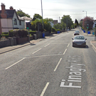 The burglary took place on Finaghy Road South. Credit: Google.