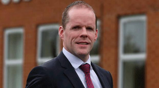 Paul McClean, head of Cross and Passion College