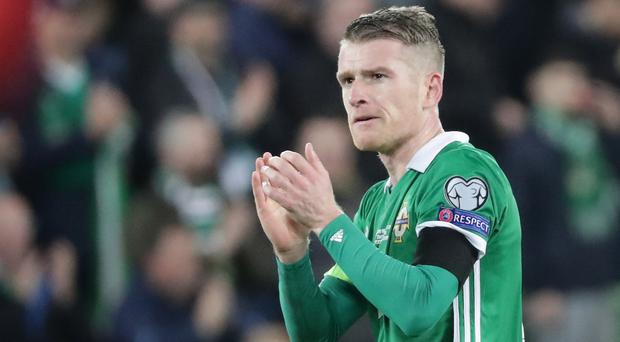 Northern Ireland's Steven Davis.
