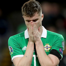 So close: Paddy McNair reflects on his missed opportunity against Estonia at Windsor Park last night