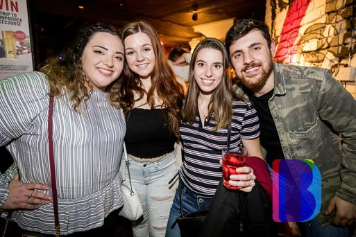 21 March 2019 People out at Filthy McNastys for Dsqo. (Liam McBurney/RAZORPIX)