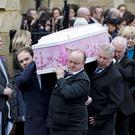 The funeral of Lauren Bullock takes place St Patrick's Church, Donaghmore on March 22nd 2019 following a crushing incident at the Greenvale Hotel in Cookstown (Photo by Kevin Scott for Belfast Telegraph)
