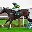 Winning team: Luke Dempsey and Teacher's Pet are fancied at Downpatrick tomorrow