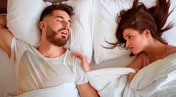 Restless night: having a partner who snores causes not just broken sleep but can strain relationships too