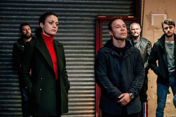 Line of Duty - Series 5 Picture Shows: McQueen (ROCHENDA SANDALL), Corbett (STEPHEN GRAHAM) - (C) World Productions - Photographer: Aiden Monaghan