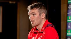 Not happy: Peter O'Mahony hit out at 'strange' reaction