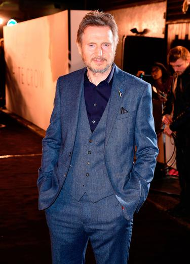 Liam Neeson puts race row behind him as new movie Normal