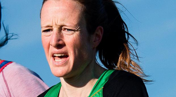 Strong showing: Ireland's Fionnuala McCormack