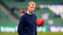 Lucky boy: Leinster manager Leo Cullen was worried over result