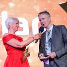 Winner of the Overcoming Adversity award, Peter Dolan from Omagh Photo by Kelvin Boyes / Press Eye