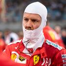 Off colour: Sebastian Vettel is going through a difficult spell