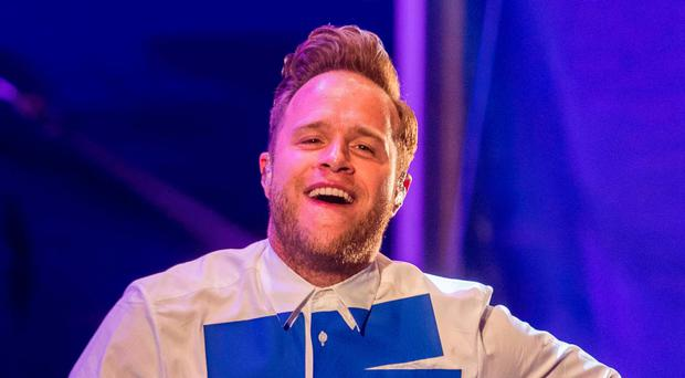 Olly Murs performing at Feile an Phobail last year