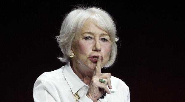 Dame Helen Mirren yelled 'f*** Netflix' as she appeared to side with cinema exhibitors in their row with the streaming giant (Chris Pizzello/Invision/AP)