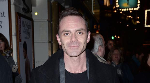 Daniel Brocklebank impressed the judges and viewers with his performance of From Now On from The Greatest Showman (Anthony Devlin/PA)