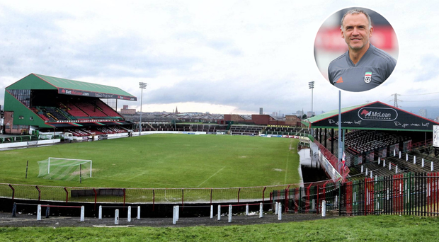 New manager Mick McDermott has plans to make Glentoran a full-time club.